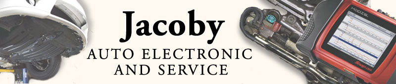 banner image: Jacoby Auto Electronic & Service -- Pics of Mechanics doing Mecanical Stuff